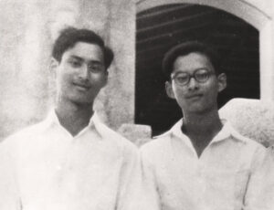 The brothers Ananda and Bhumibol in 1946, shortly before Ananda's mysterious death.