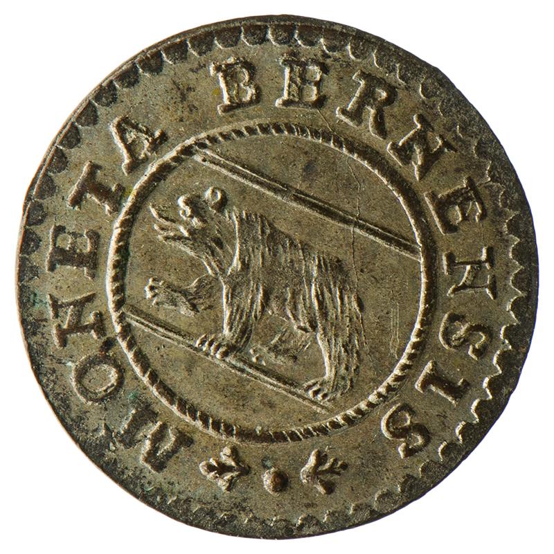 Berner Münze von 1775.
