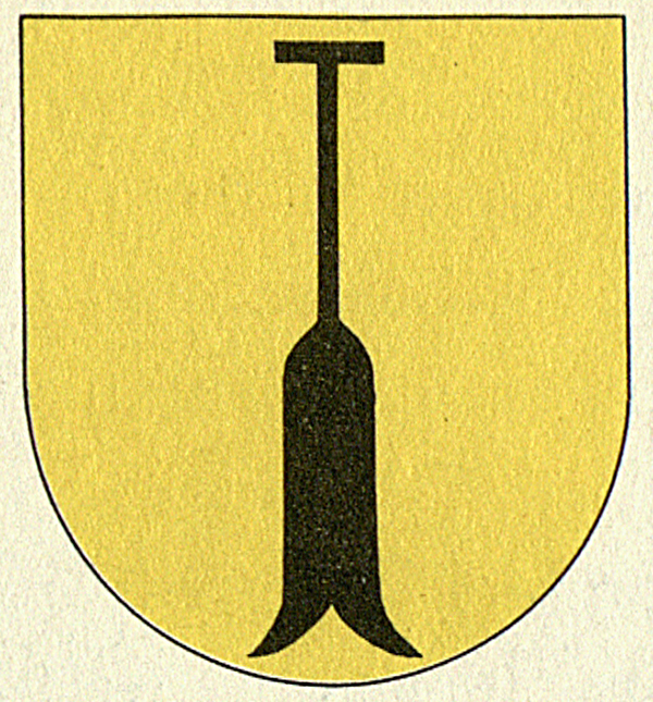 Schloss Lenzburg, Wappenschild am Oberen Torhaus.