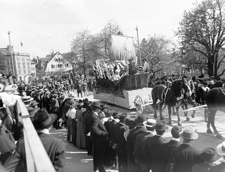 Anonym, Sechseläutenumzug, Zürich 20.4.1914