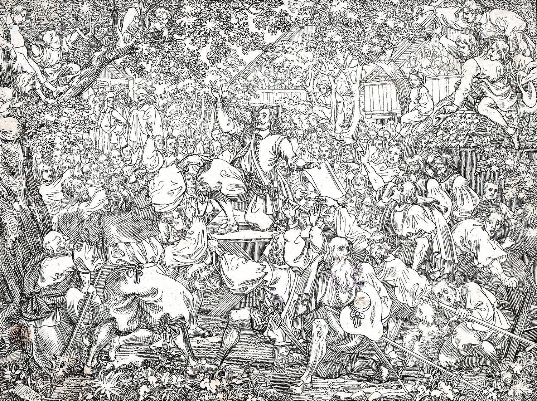 Bundesschwur an der Landsgemeinde von Huttwil 1653