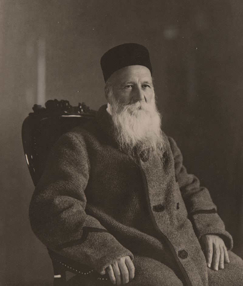 Portrait of Henry Dunant.