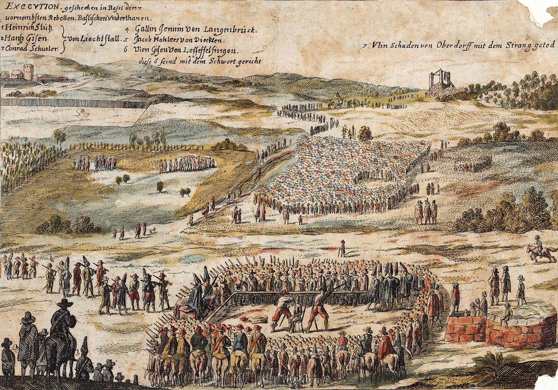 Exekution in Basel 1653