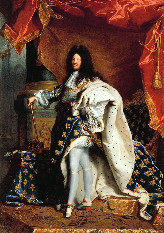 Louis XIV. (1638-1715) um 1701
