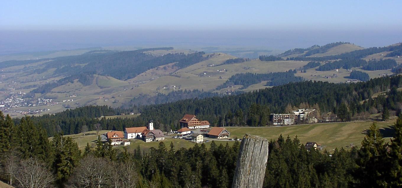 Sicht auf Heiligkreuz LU © Josef Brügger