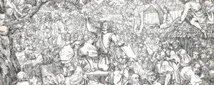 Niklaus Leuenberger beim Bundesschwur von Huttwil 1653 (Ausschnitt)