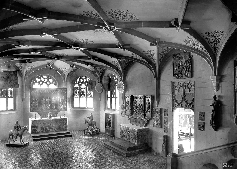 Salle 8. Chapelle gothique