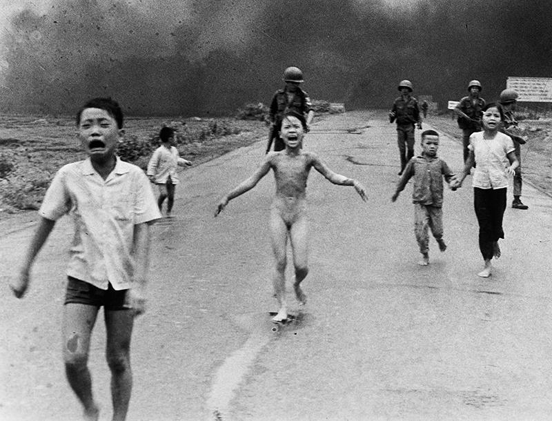 Siegerbild von 1973 aus dem Vietnamkrieg.