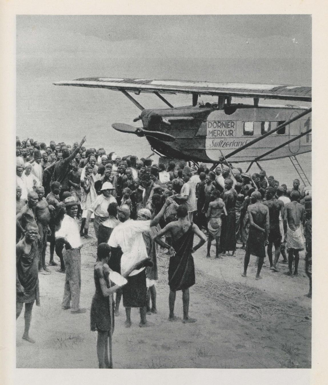Walter Mittelholzer, Afrikaflug 1927
