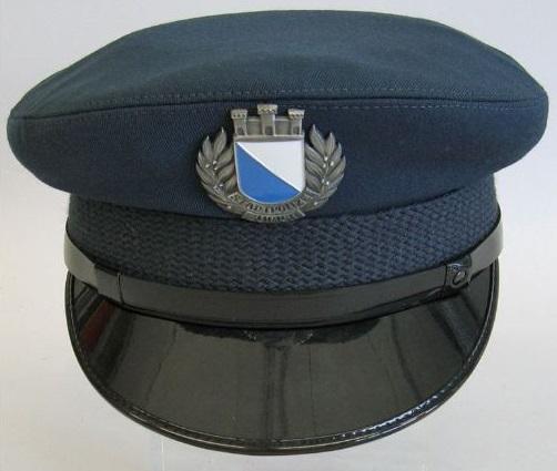 Schirmmütze der Stadtpolizei Zürich.