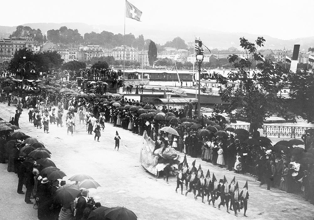 Thurgovie: le Groppenfasnacht d'Ermatingen
