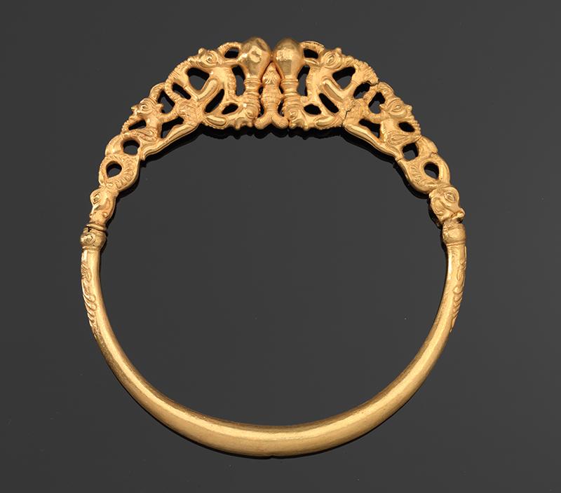 Goldhalsreif aus dem Schatz von Erstfeld UR, um 300 v. Chr.