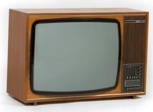 PAL-Farbfernsehempfänger Saba Schauinsland S2600 Color E, hergestellt in Villingen / Deutschland, um 1970.