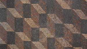 Sol romain en mosaïque.
