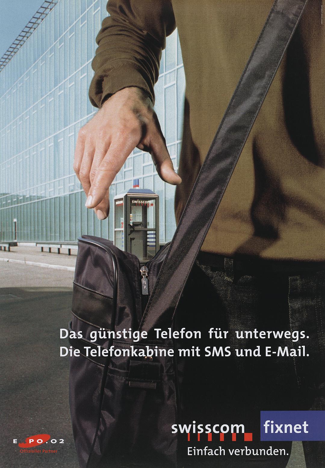 Werbung der Swisscom aus dem Jahr 2002