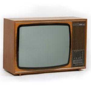 Saba Schauinsland S2600 Color E PAL colour TV receiver, manufactured in Villingen, Germany, around 1970.