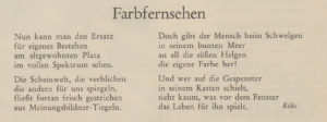 Nebelspalter: das Humor- und Satire-Magazin, Nr. 39/1967, S. 15.