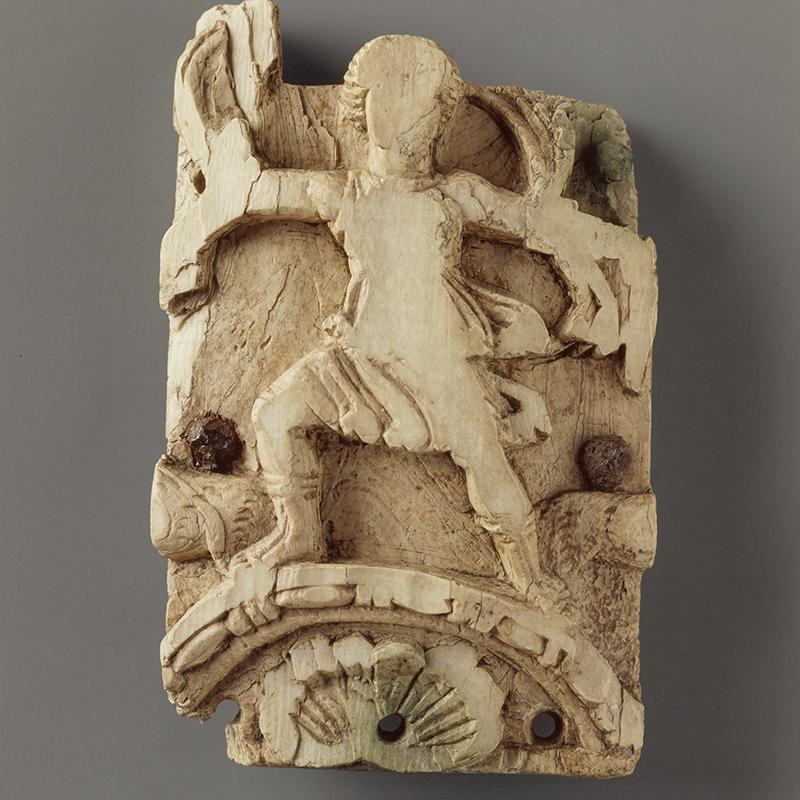 Tronc romain en ivoire.