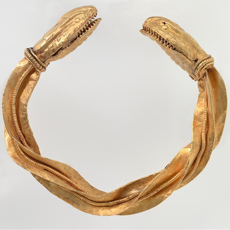 Bracelet romain en or.