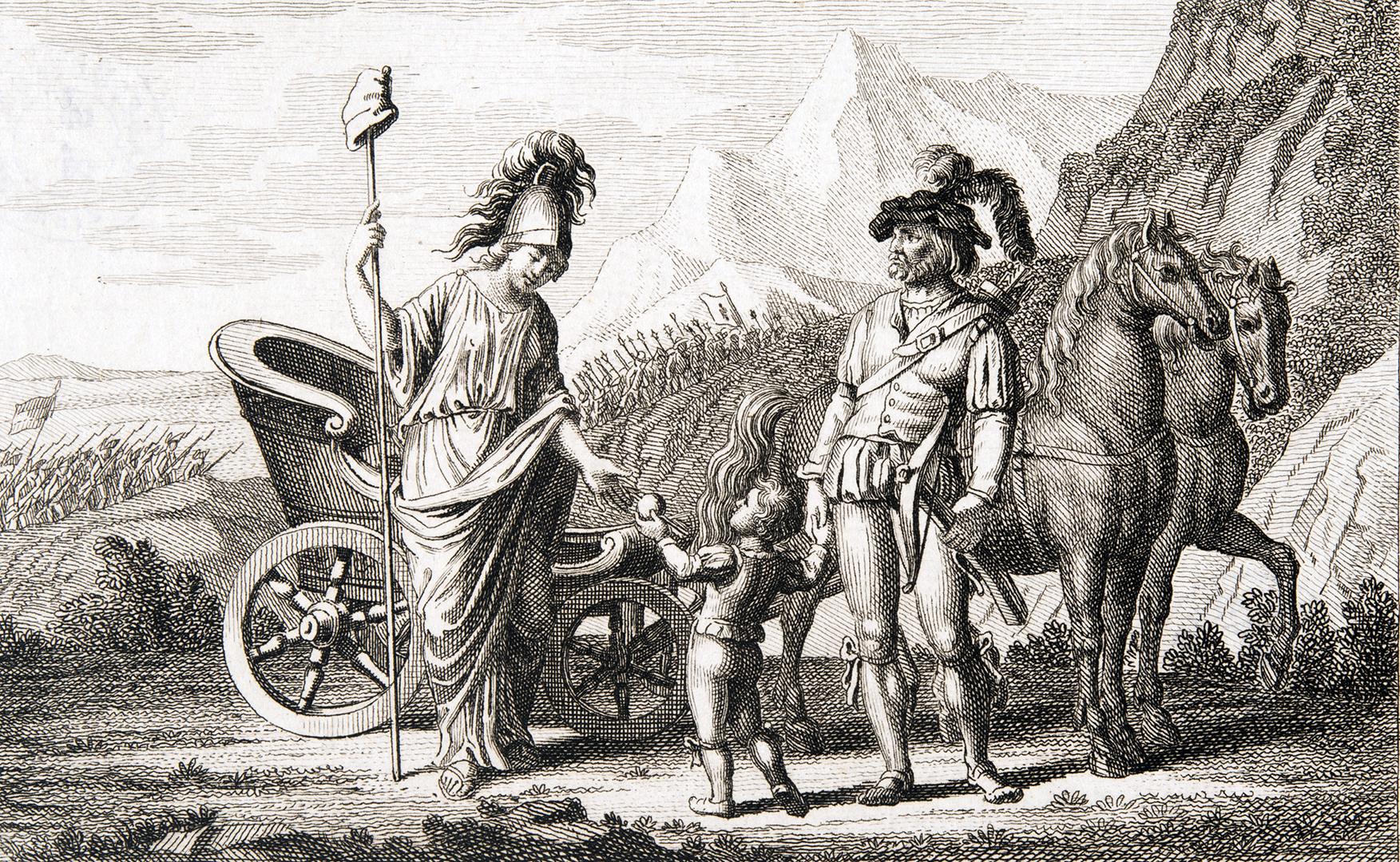 «Durch die französische Armee kommt die Freiheit in die Schweiz.»