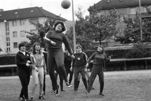 DFC Zürich beim Trainingsspiel.
