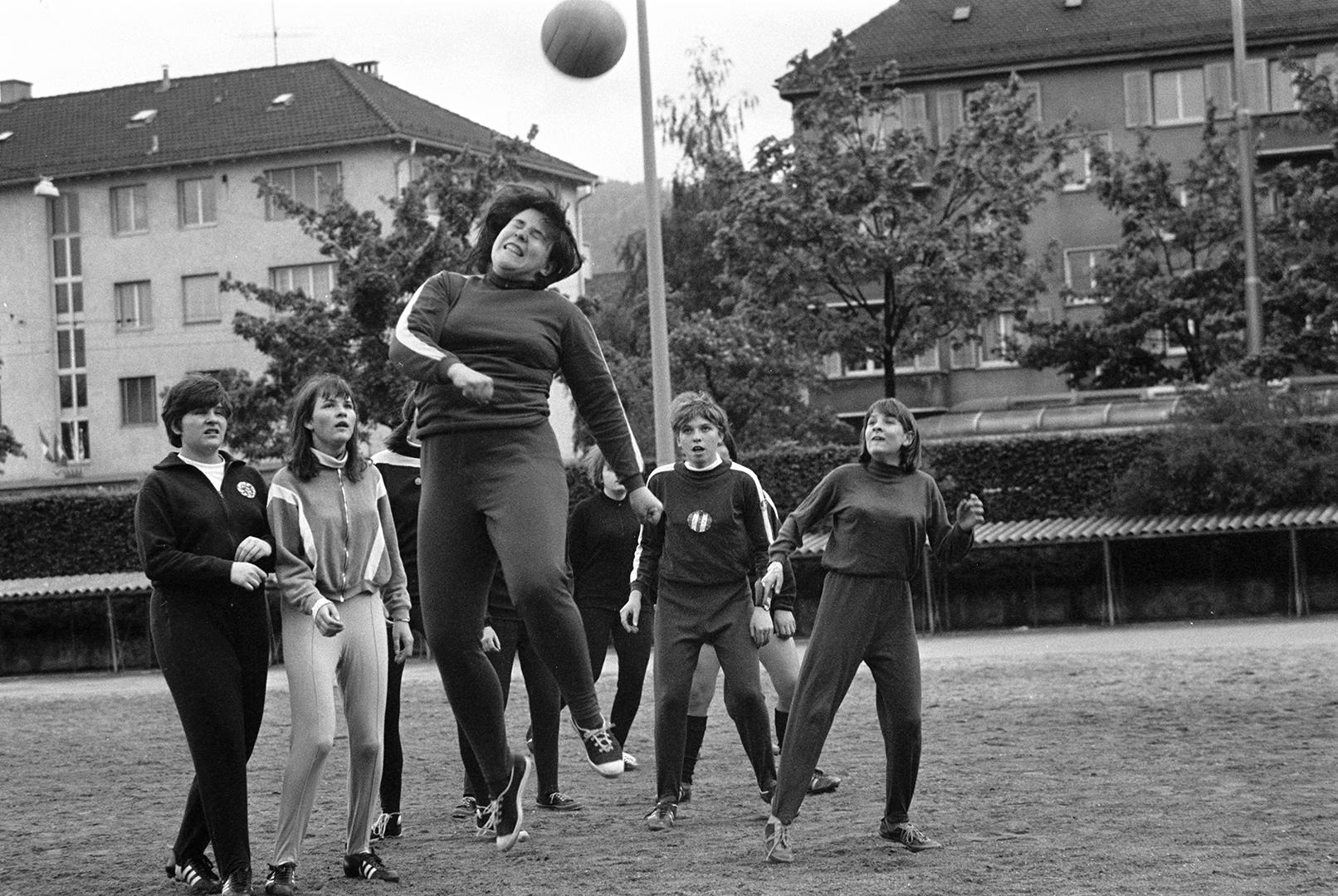 Le DFC Zurich lors d'un match d'entraînement.