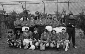 Erstes Mannschaftsfoto des DFC Zürich.