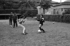 DFC Zürich beim Training.