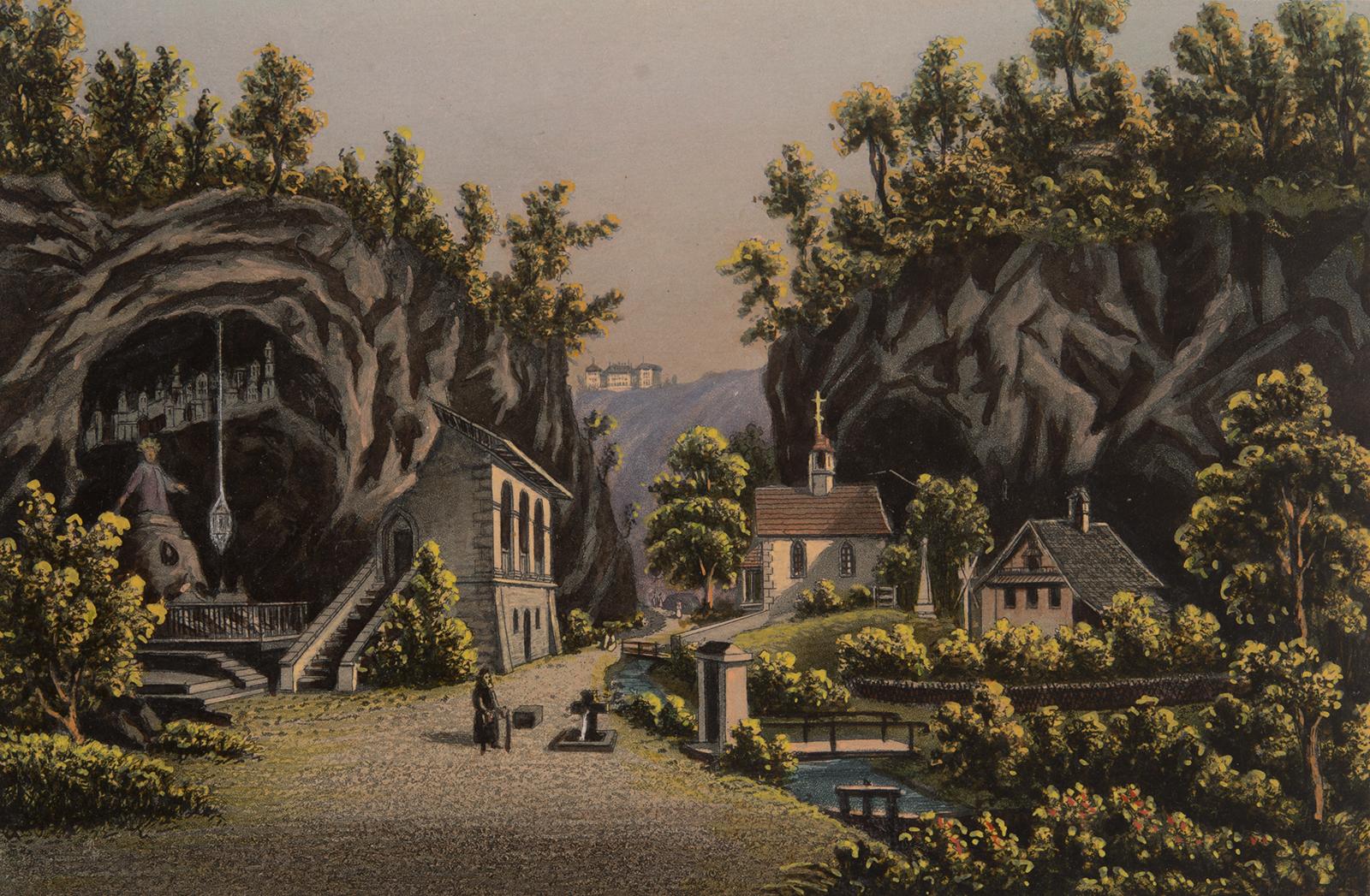Die Einsiedelei St. Verena in Solothurn.