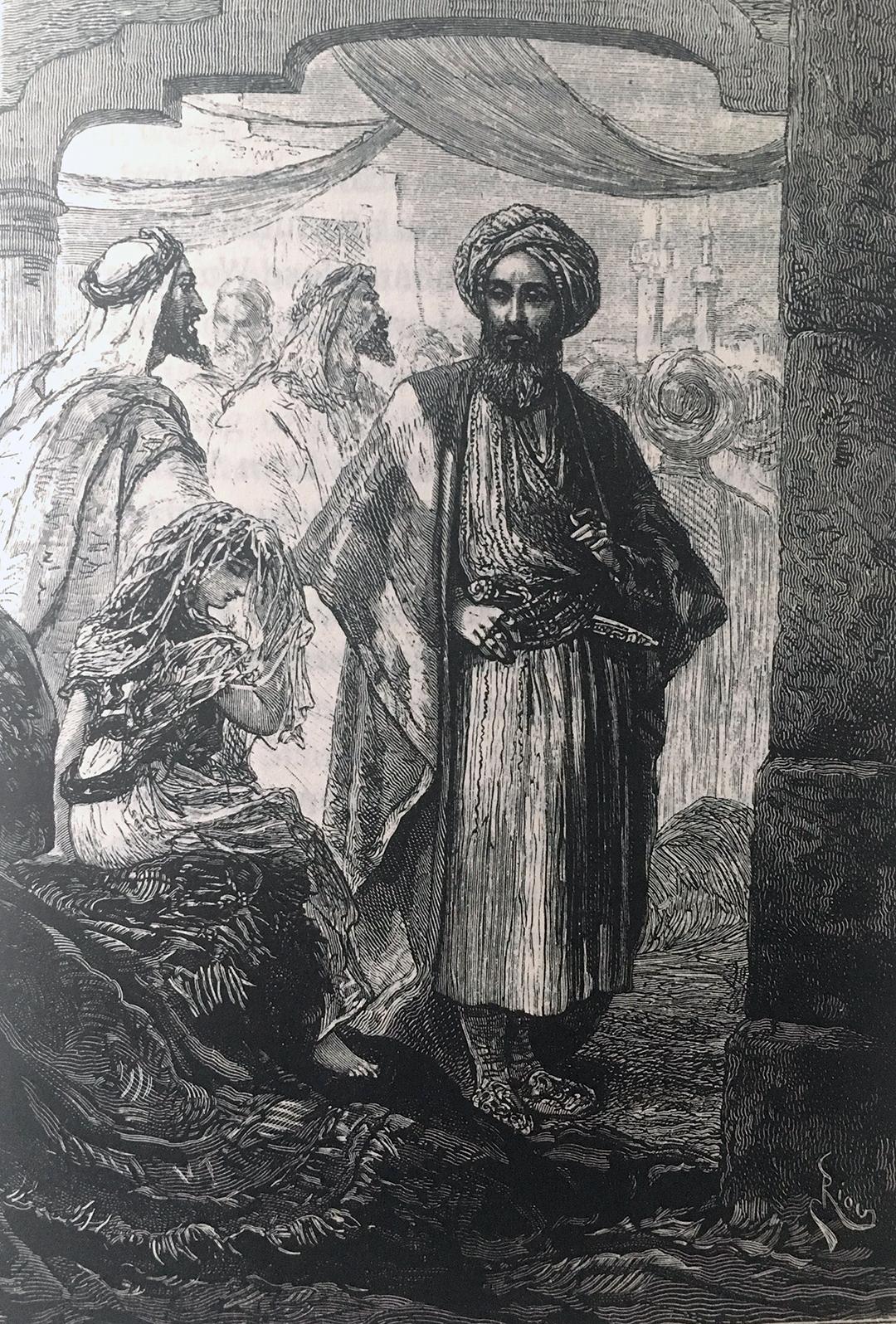 Haydée sur le marché d'esclaves