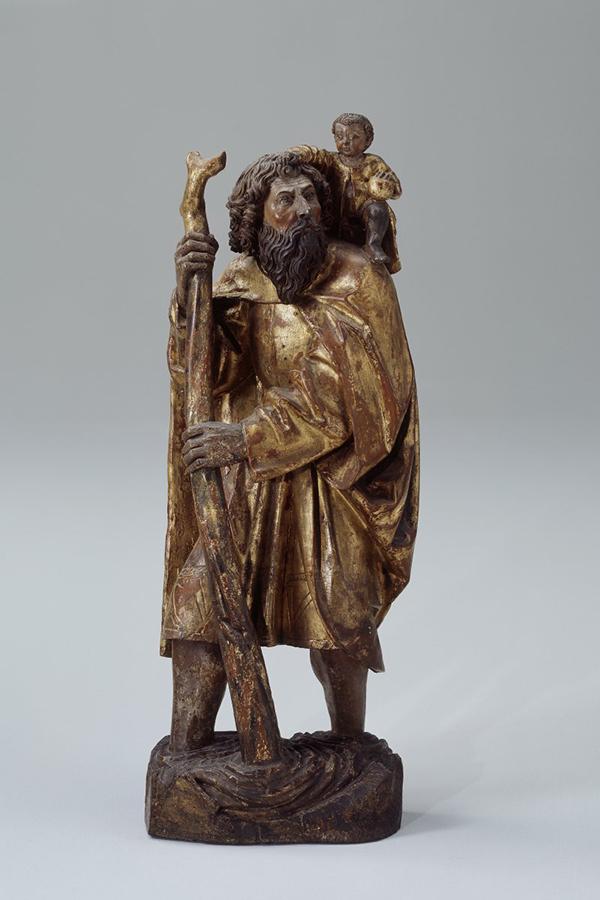 Saint Christophe veille sur les automobilistes.