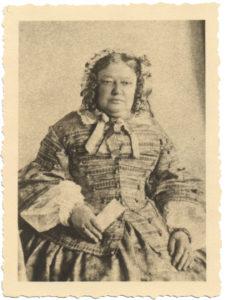 Fotografie von Katharina Morel, um 1870.