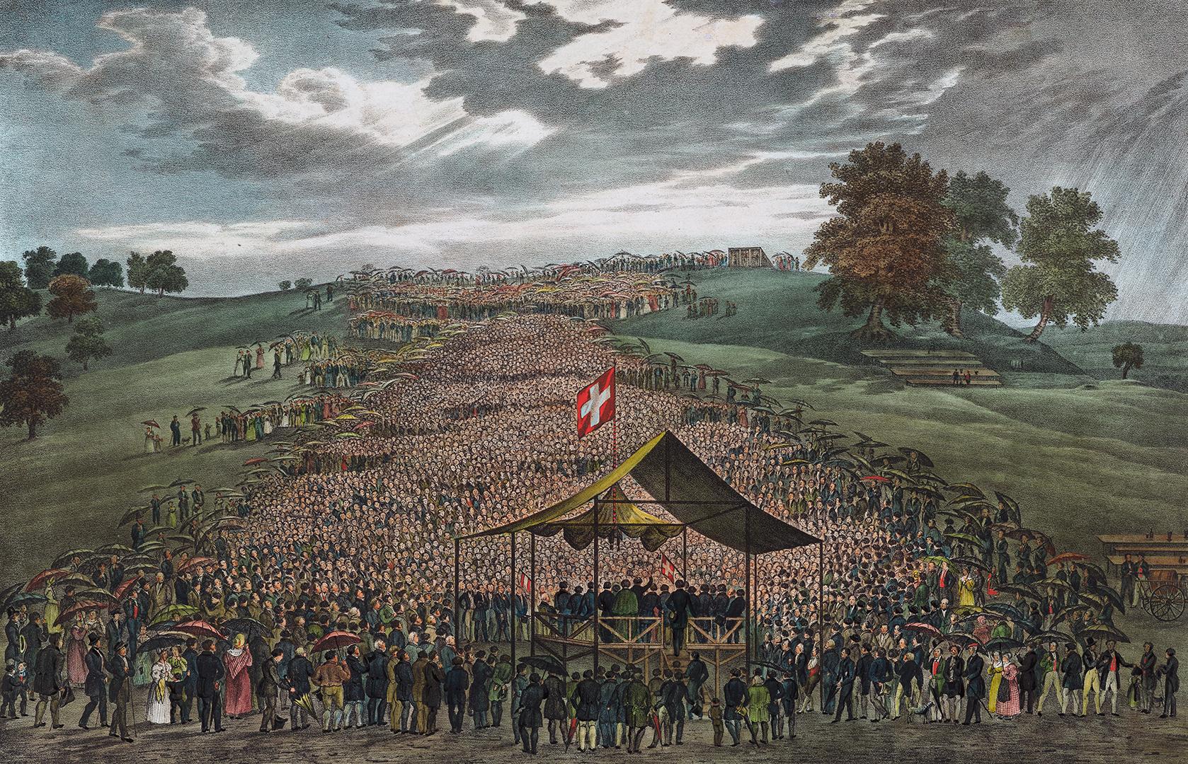 Volksversammlung zu Flawil vom 7. August 1836