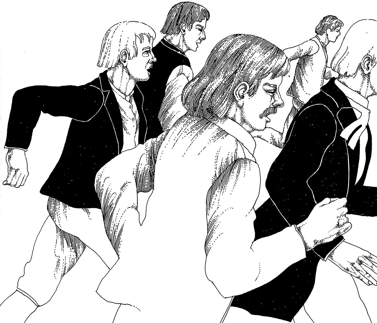 Illustration von Stephan Bundi