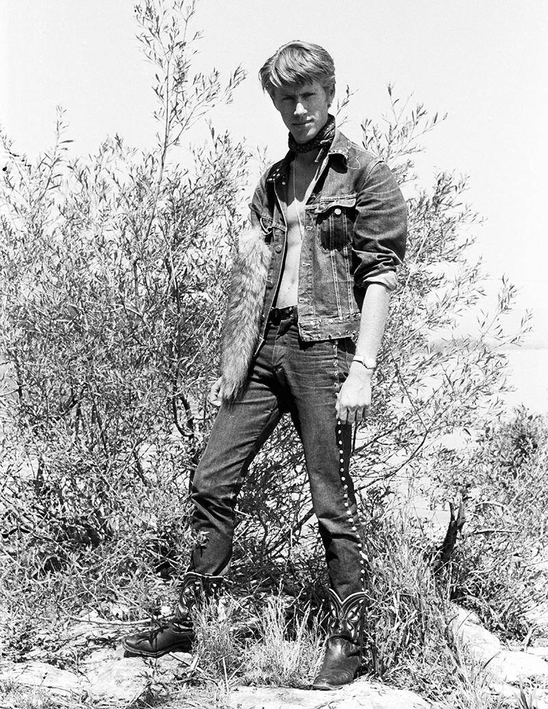 Toni Vescoli at Lake Neuchâtel, summer 1959/60.