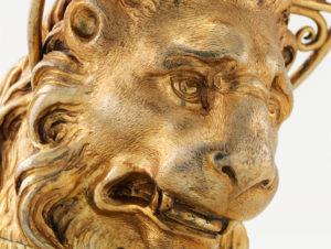 Der Markuslöwe von Zürich stammt aus dem Jahr 1608 und ist 31,5 Zentimeter hoch.