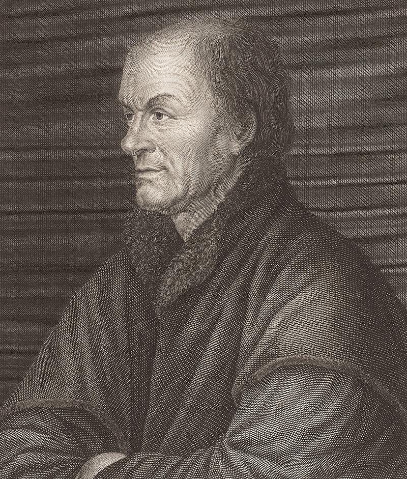 Porträt von Johannes Froben.