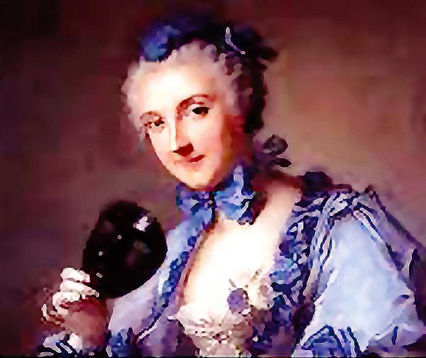 Porträt von Anne-Marguerite Petit.