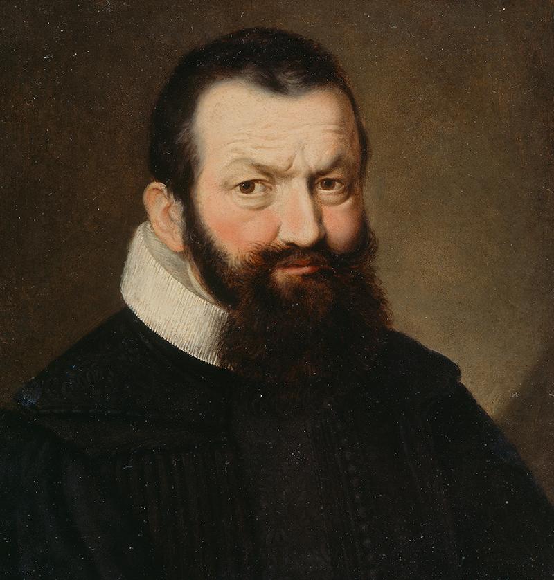 Porträt von Johann Rudolf Wettstein.