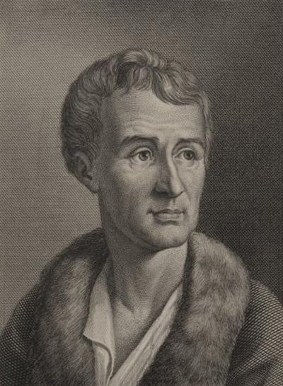 Portrait de Jean-Jacques Rousseau.
