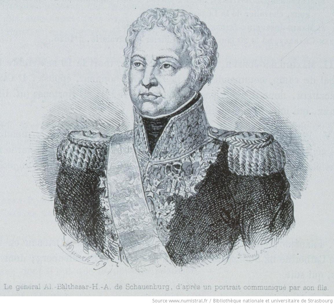 L'Alsacien Balthazar de Schauenburg était le bras droit de Napoléon dans la Confédération.