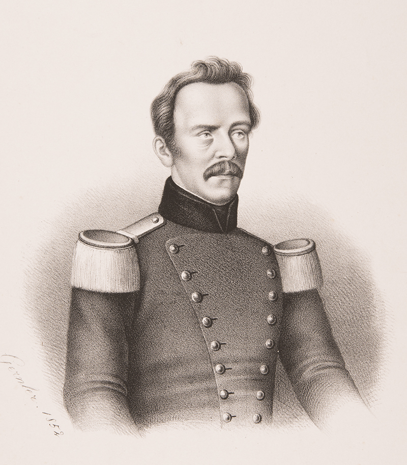 Portrait de Johannes Eschmann (1808-1852).