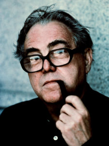 Portrait of Max Frisch, 1990.