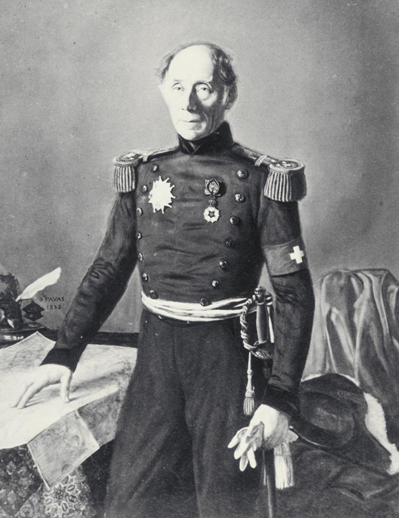 Portrait du général Henri Dufour.