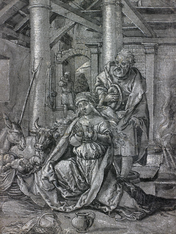 Tobias Stimmer, Geburt Christi, 1565.