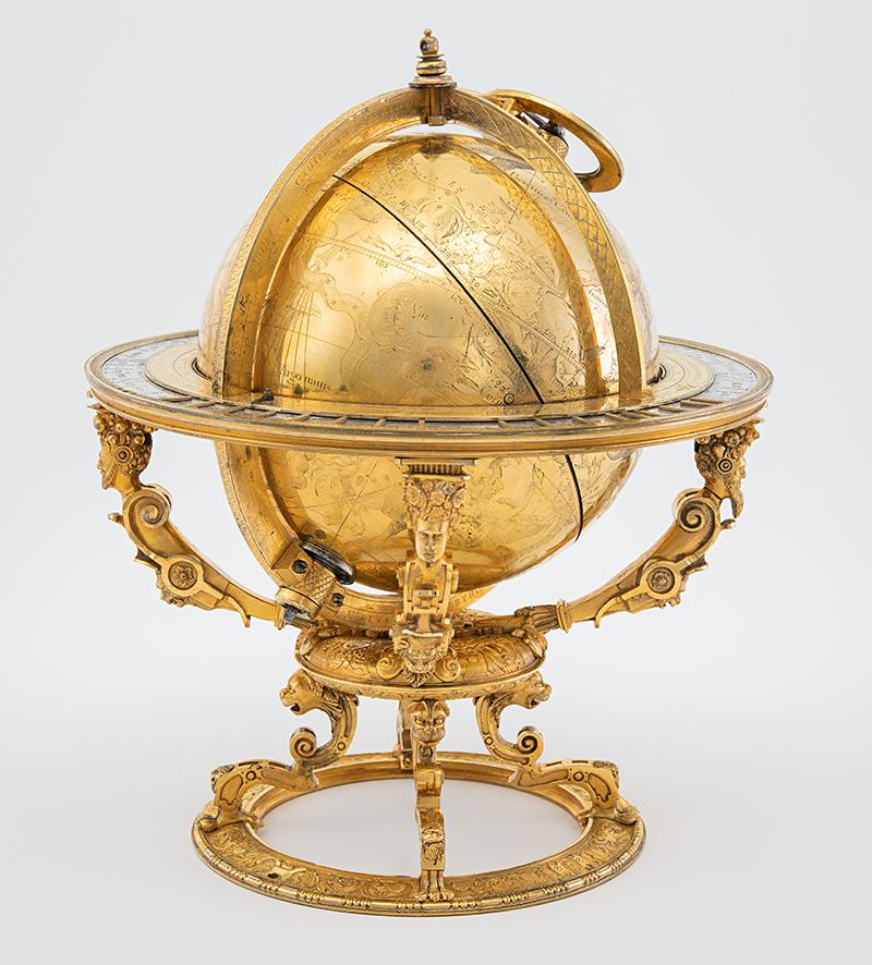Globe céleste de Jost Bürgi, 1594.