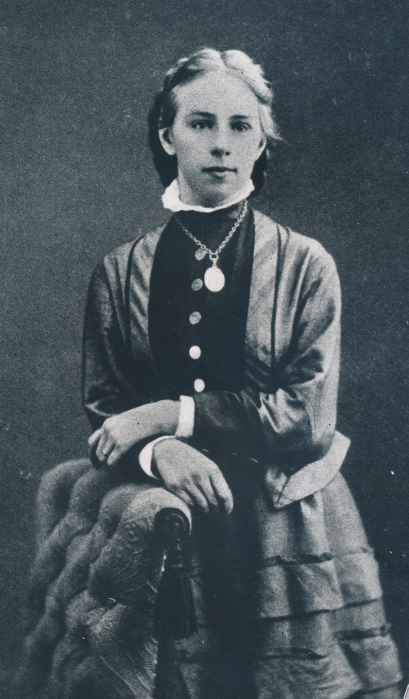 Portrait d'Emilie Kempin-Spyri, vers 1885.