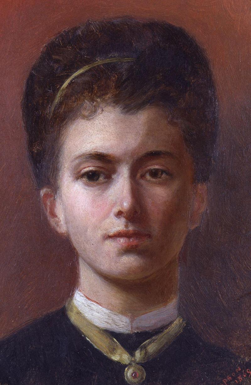 Autoportrait d'Elizabeth Butler-Thompson.