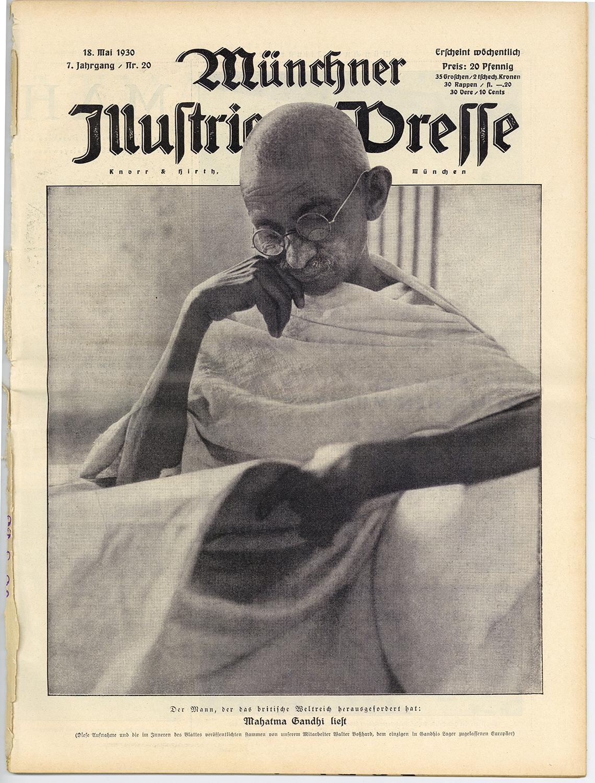 Titelblatt der Münchner Illustrierten Presse vom 18.5.1930. Schweizerisches Nationalmuseum