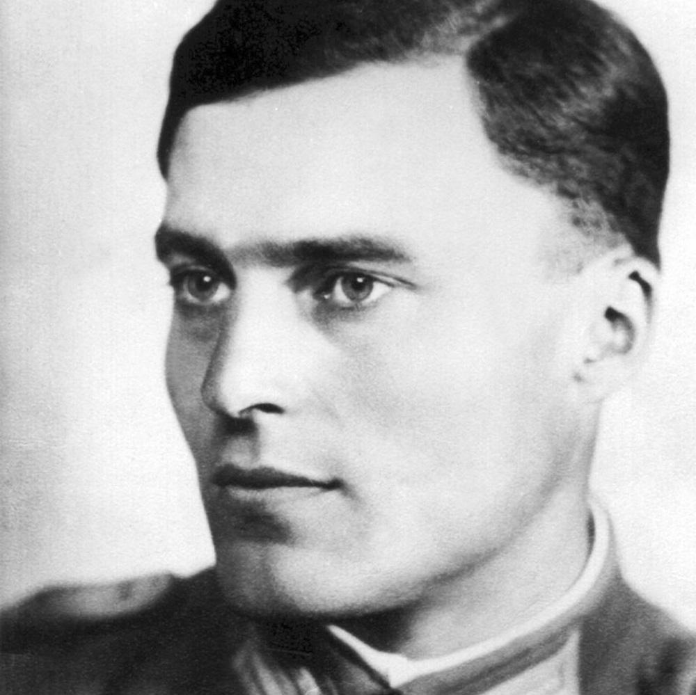 Claus Schenk Graf von Stauffenberg.